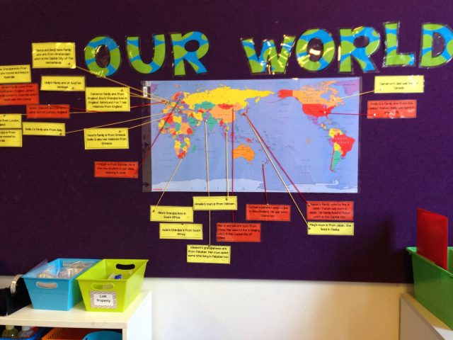 Classroom World Map