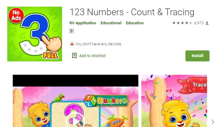 123-Numbers-Count-and-Tracing